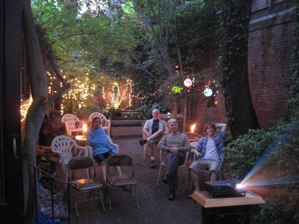Courtyard film screening