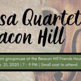 Rasa Quartet on Beacon Hill