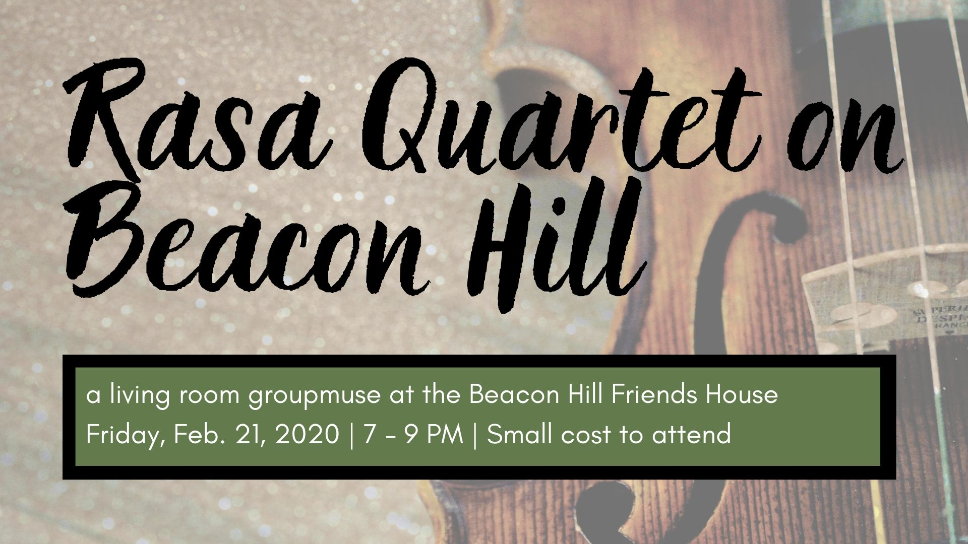 Rasa Quartet on Beacon Hill